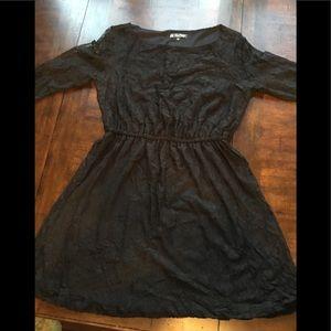 Bebop black lace dress